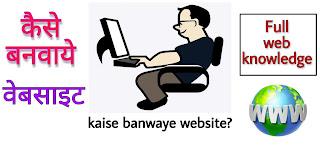 Website kisse banaaye