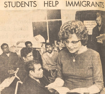 Students help immigrants in Keighley