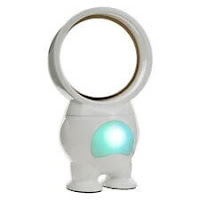11 inch Robo No-blade Fan with Light USB Powered Shaped Like a Person