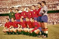 Resultado de imagen de seleccion española de futbol año 1961