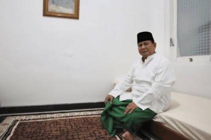 Ucapkan Idul Fitri, Prabowo Subianto: Semoga Amal Kita Diterima Allah SWT