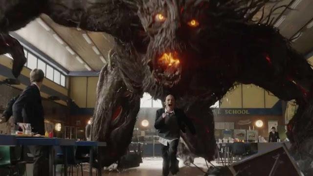 Connor liberando al monstruo para afrontar sus miedos
