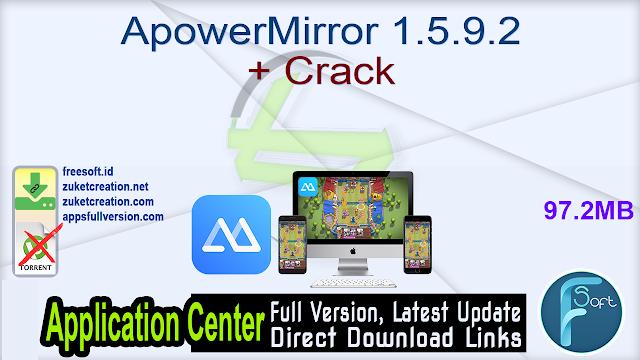 ApowerMirror 1.5.9.2 + Crack