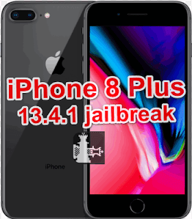 Jailbreak iPhone 8 Plus[A1897,A1864 ]iOS 13.4.1 Windows Pc and Mac.