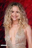 Jennifer Lawrence in a golde glittering gown at Red Sparrow Premiere in London ~  Exclusive Galleries 027.jpg