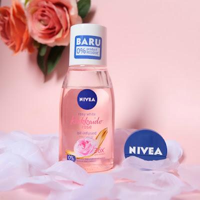 NIVEA Hokkaido Rose Oil Infused Micellar