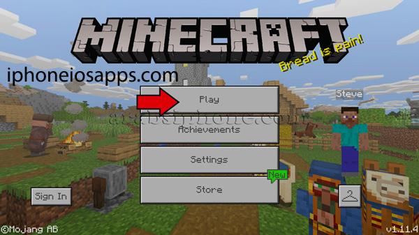 ماين كرافت للايفون – Minecraft