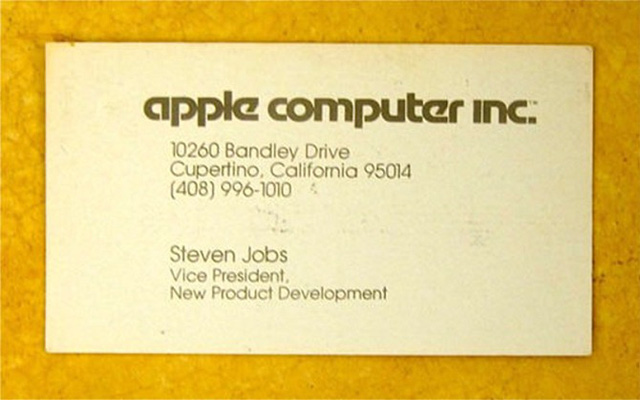 Steve Jobs – Apple