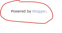 Cara Menghapus Atribusi Powered by Blogger atau Diberdayakan oleh Blogger