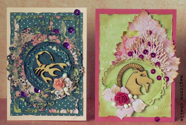 kartki urodzinowe dla Koziorożca i Raka