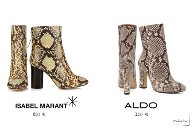 Python Isabel Marant booties