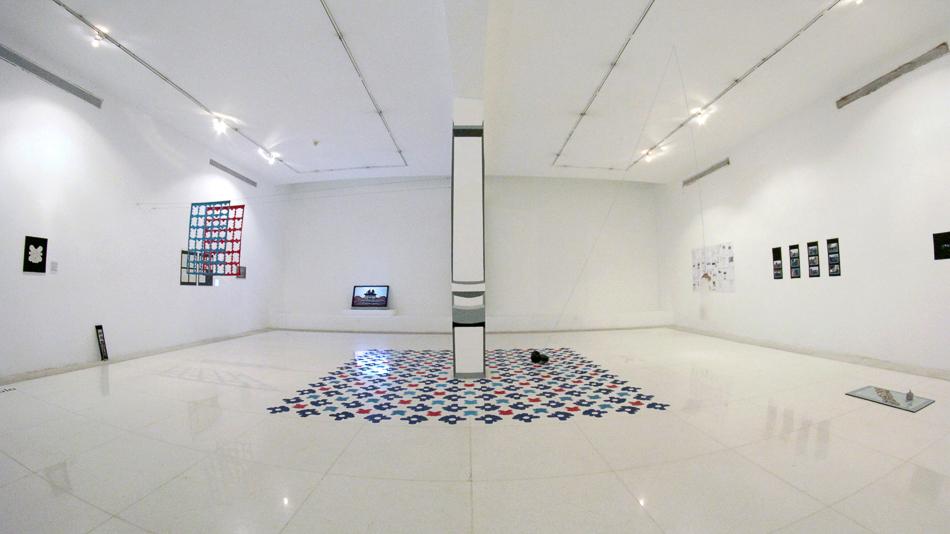"""Vista de """"Memoria a escala"""" en la sala 7 del Museo de Arte Valencia"""