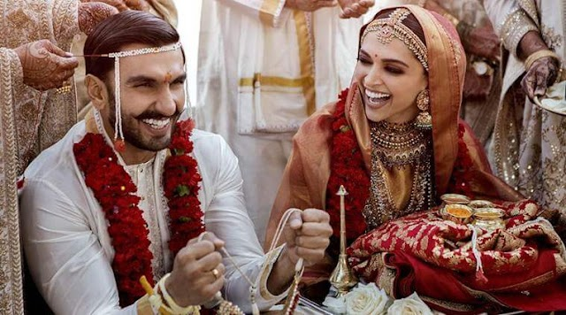 Deepika Padukone and Ranveer Singh Wedding Pics: DeepVeer tie the knot in Italy, Here's the first photos of DeepVeerKiShaadi