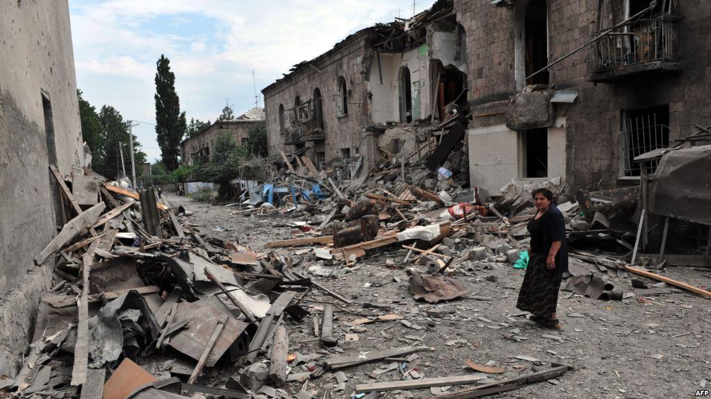 руины грузинского города