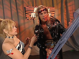 WWE / WWF Royal Rumble 2002 -Edge talks to Lilian Garcia about whacking William Regal with a chair