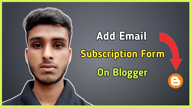 How to add follow by email on Blogger