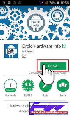 cara melihat informasi hardware hp android