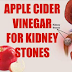 Very Effective! 4 Ways to Use Apple Cider Vinegar for Dissolving Kidney Stones