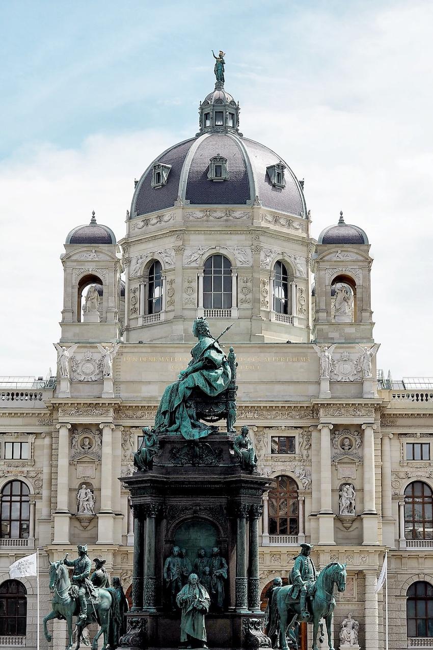 Statue Maria Theresia