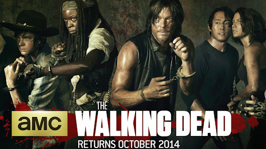 The fifth season of The Walking Dead series