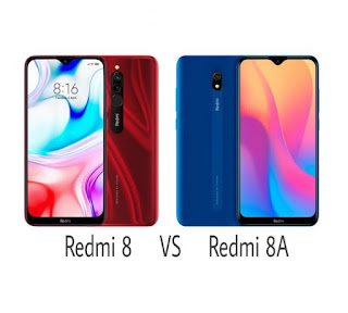 Difference between Xiaomi Redmi 8 and Redmi 8A