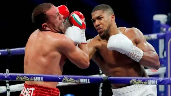 Anthony Joshua wins fight with Pulev – Knocks him out