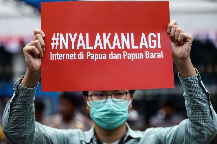 AS Sebut Keputusan Blokir Internet Papua Bentuk Tindakan Pelanggaran HAM di Era Jokowi
