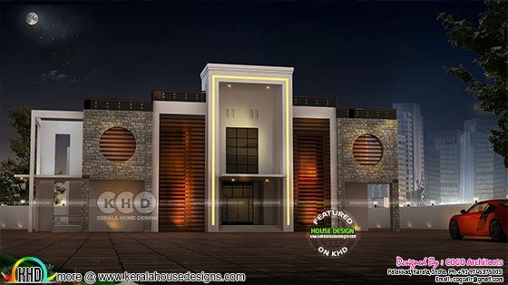 Arabian model 5 bedroom home design