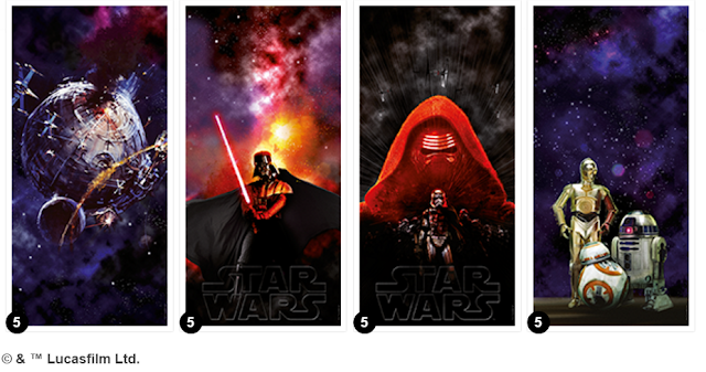 Star Wars design VELUX blinds