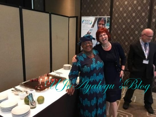 Ngozi Okonjo Iweala Celebrates 63rd Birthday In Switzerland (Photos)