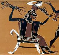 Zeus mit Vajra, Donnerkeil