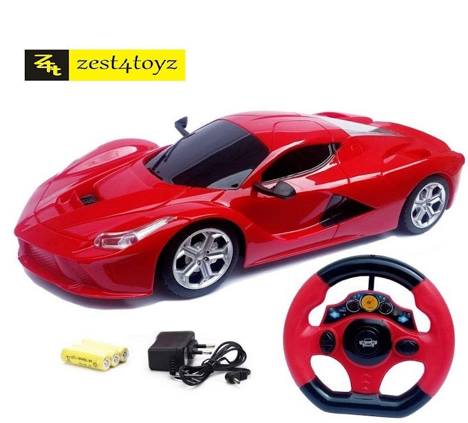 Rs,659/- Zest 4 Toyz Steering Remote Control Racing Car, Assorted Design & Colors