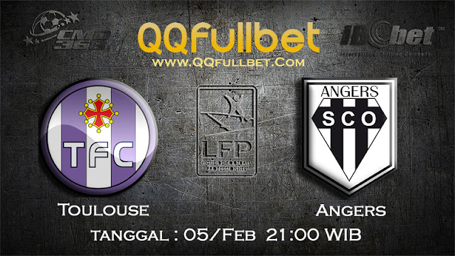 PREDIKSIBOLA - PREDIKSI TARUHAN TOULOUSE VS ANGERS 5 FEBUARY 2017 (FRANCE LIGUE 1)