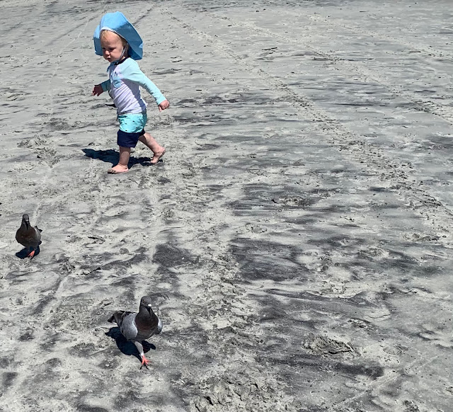 beach vacation with kids