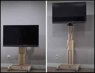 DIY Portable TV Stand