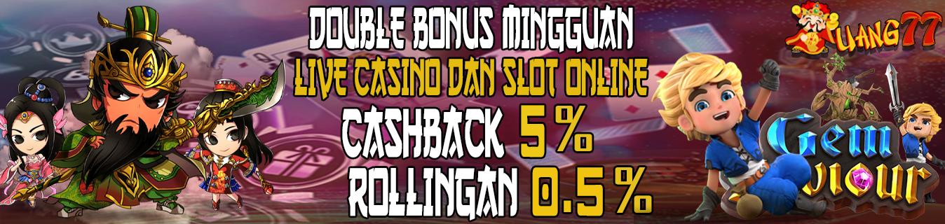 Promo Bonus Slot 20%