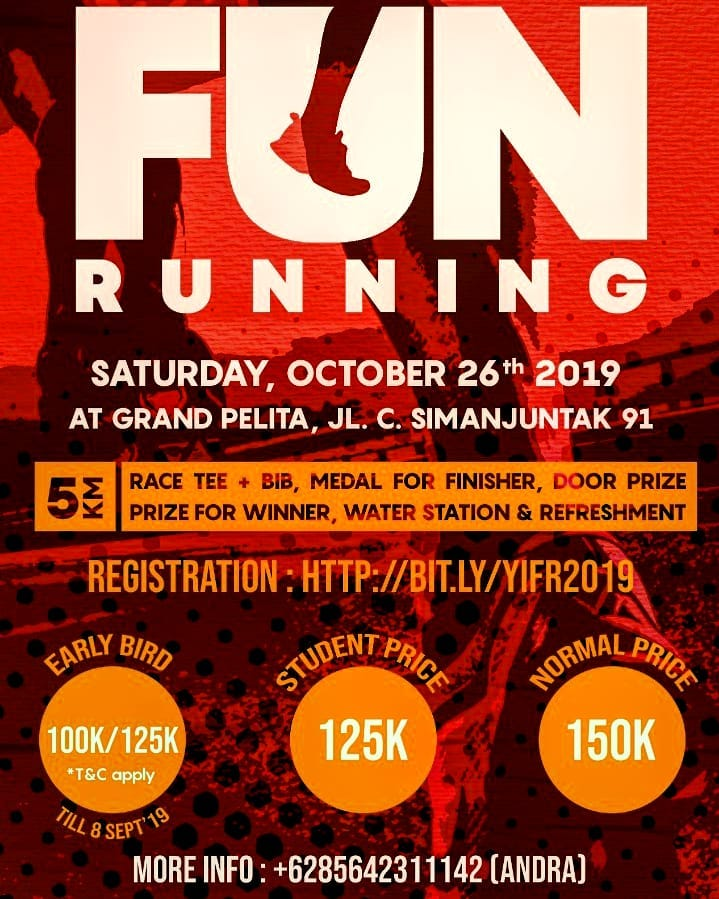 Youth Impact Fun Running • 2019