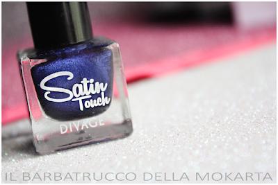 satin touche polish, smalto blu   -  DIVAGE  - StayGlam Collection Spring/Summer 2016