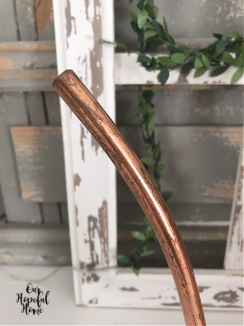 copper watering can spout