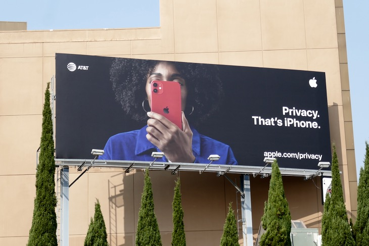 Apple Privacy Thats iPhone billboard