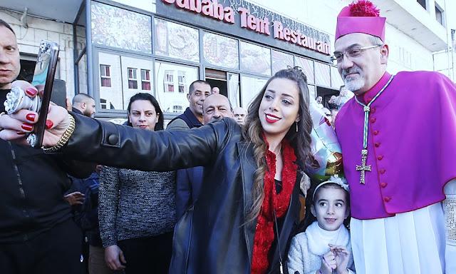 Cristianos de todo el mundo se congregan en Belén por Navidad
