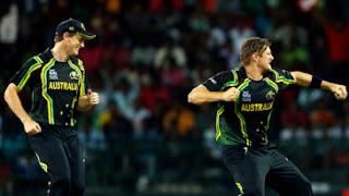 Australia vs West Indies 8th Match ICC World T20 2012 Highlights