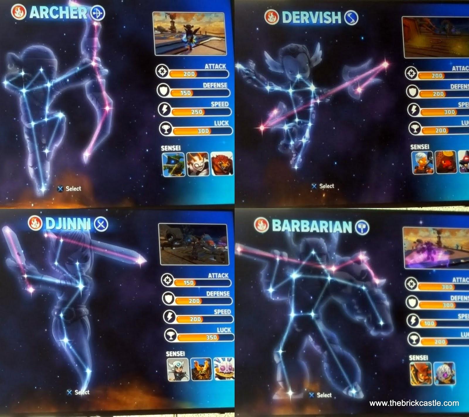 More Senseis revealed in prototype images : skylanders