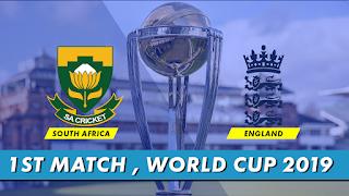 CricketHighlightsz- England vs South Africa 1st Match World Cup 2019 Highlights