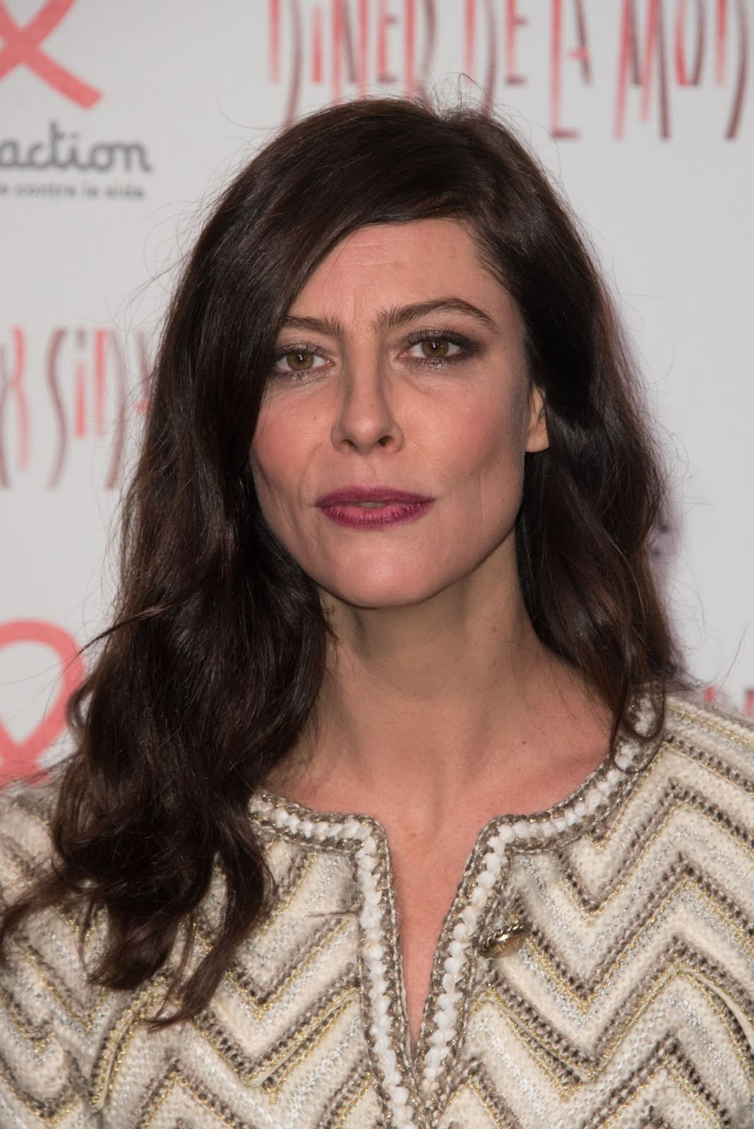 Anna Mouglalis At Sidaction Gala Dinner In Paris