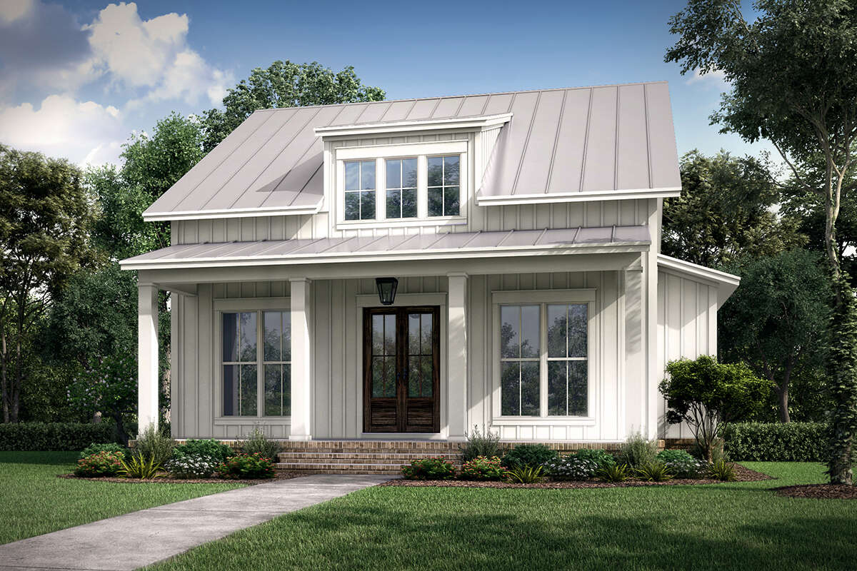 Minimalist Small Farm House With Interior Design In 2020 Nice Home Design