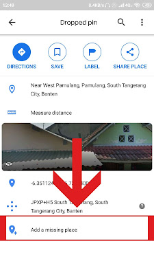 tambah lokasi google maps