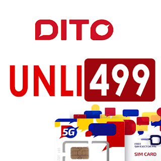 DITO Unli 499 – Unlimited High-speed Data for the first 2GB for 30 Days