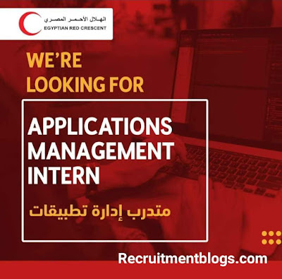 Applications Management Intern( paid internship) At Egyptian Red Crescent