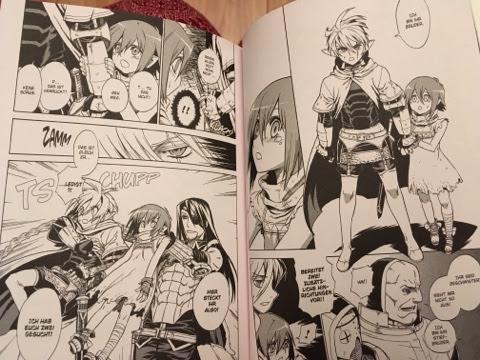 Review zum Manga Übel Blatt